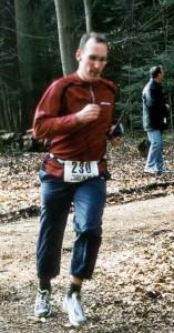 Marco Frei bei der Kreiswaldlaufmeisterschaft Dennach 2003
