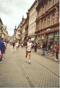 Marco Frei beim Heidelberger Halbmarathon 2001