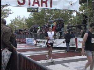 Marco Frei beim Baden-Marathon Karlsruhe 2000
