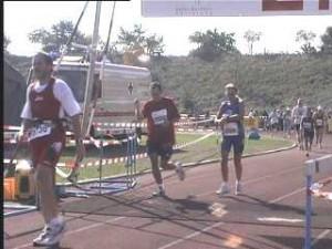 Marco Frei beim Baden-Marathon Karlsruhe 1999