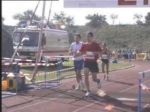 Martin Nelius beim Baden-Marathon Karlsruhe 1999