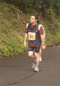 Oliver Lamprecht beim Heidelberger Halbmarathon 2003