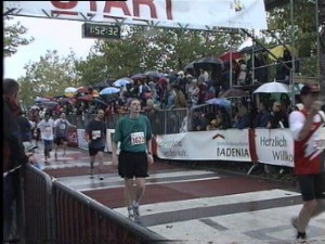 Timo Brenk beim Baden-Marathon Karlsruhe 2000