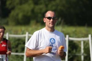 Marco Frei beim Lußhardtlauf Hambrücken 2009