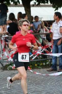 Christine Frei beim Mosbauer Stadtlauf 2009