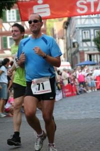 Marco Frei beim Mosbacher Stadtlauf 2009