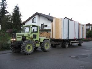 17.10.2013 Unser Erdgeschoss ist in Bilfingen angekommen