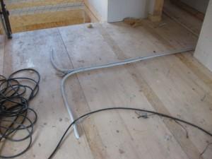 02.11.2013 Kabel im OG für Licht im EG