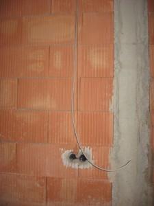 07.11.2013 Stromleitungen gibt es auch im Keller
