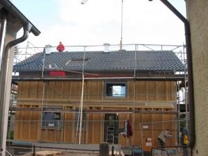 11.11.2013 Die Ziegel sind auf dem Dach