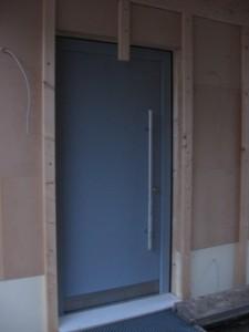 """06.02.2014 Zugang zum Haus nun vorläufig über den """"Personaleingang"""""""