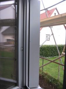 18.02.2014 Die Fenster werden ordentlich eingefasst