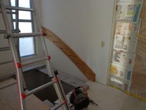 24.02.2014 Lösung: Die Treppe ins Obergeschoss wird eingebaut
