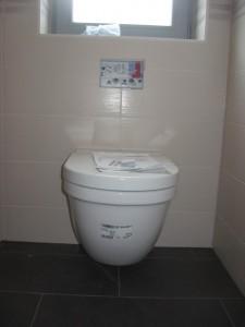 10.04.2014 Toilette im Gästebad