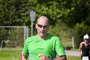Marco Frei beim Lußhardtlauf Hambrücken 2014