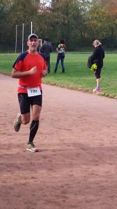 Marco Frei beim Hardtwaldlauf 2015 in Karlsruhe